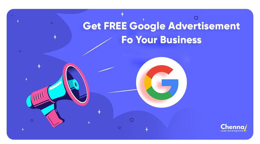 Get Free Google Advertisement for your Business