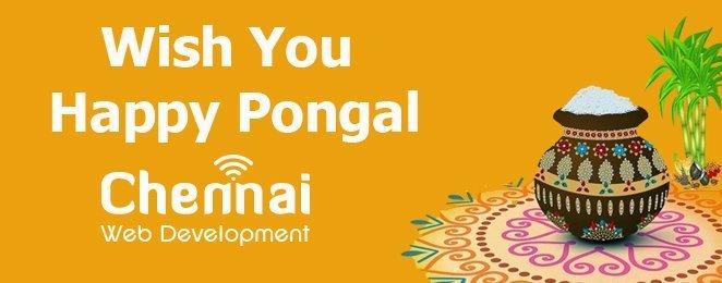 Pongal Wishes From ChennaiWebDevelopment.com – 2020