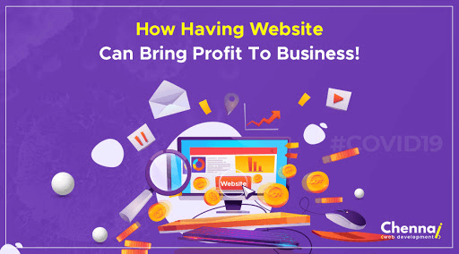 website can bring profit to business