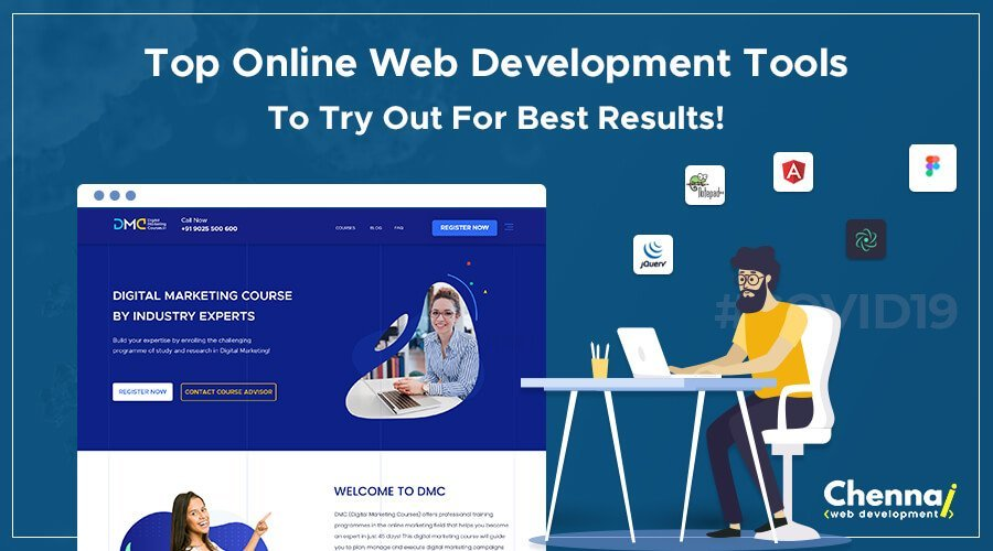 Top Online Web Development Tools To Try Out for Best Results!
