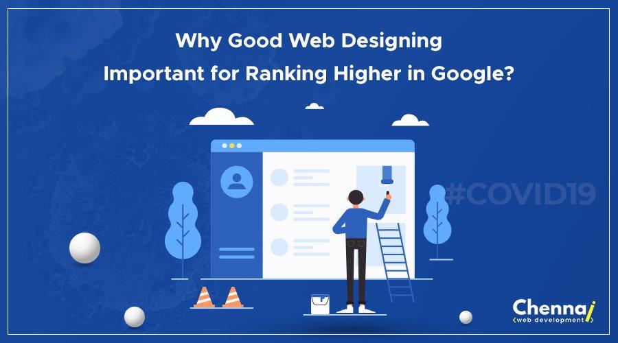 Web designing to rank higher
