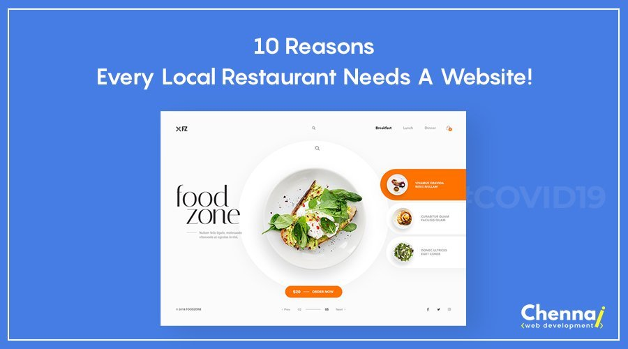 10 Reasons every local restaurant needs a website!