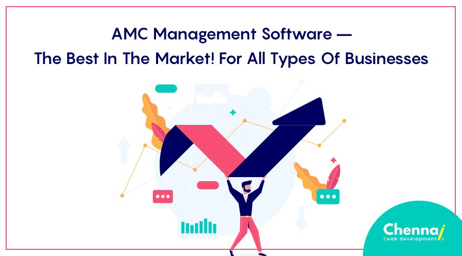 AMC Management Software – The best in the market! For all types of businesses.
